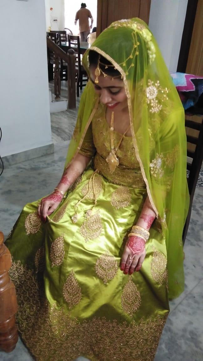 bridal makeup in perumbavoor